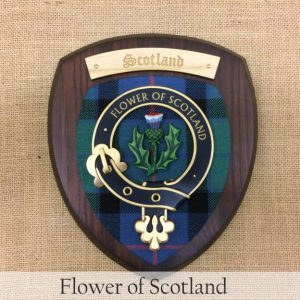 flower of scotland plaque