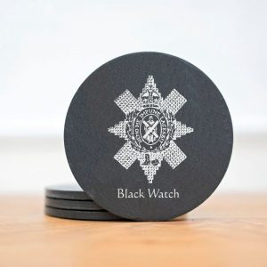 black watch coasters