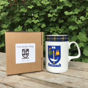 glasgow university mug and box