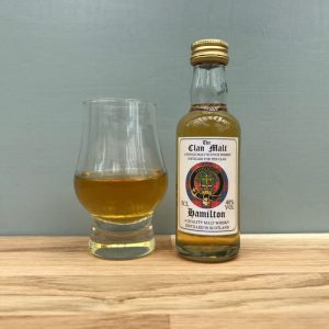 clan hamilton 5cl whisky miniature