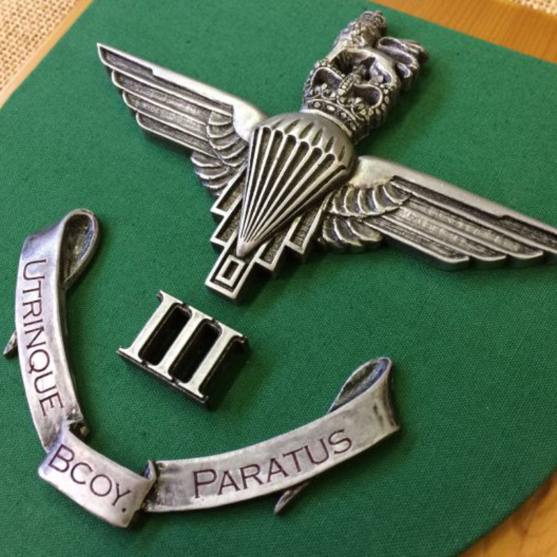 Bespoke Products Square Parachute Regiment