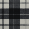 scottish erskine black and white tartan