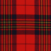 scottish leslie red modern tartan