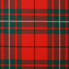 scottish macaulay red modern tartan